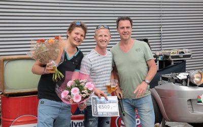 Winnaars Cor Millenaar Cheques tijdens ARN 2017