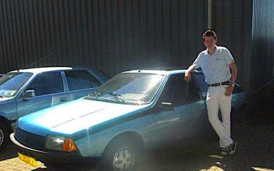 """Lars Maas over zijn Renault Fuego: """"Vader is tevreden"""""""